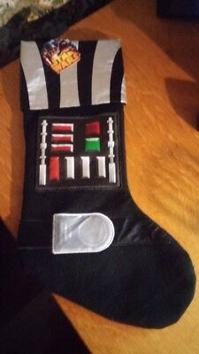 Star Wars Darth Vader Stocking NEW WITH TAGS