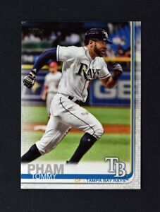 2019-Topps-Series-1-Base-175-Tommy-Pham-Tampa-Bay-Rays