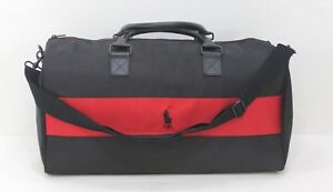 RALPH LAUREN PARFUMS POLO BLACK   RED WEEKEND   TRAVEL  CABIN BAG ... 0279672ae5