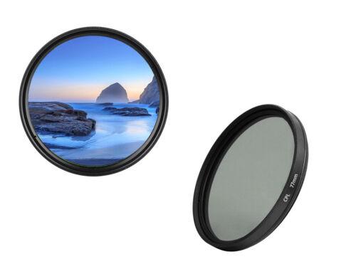 Dhd Digital Marcas CPL Filtro Polfilter 77mm Filtro de Polarización 77MM