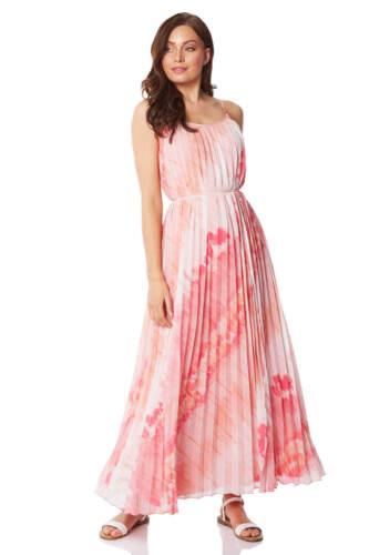 Roman Originals Womens Sleeveless Tie Dye Effect Maxi Dress