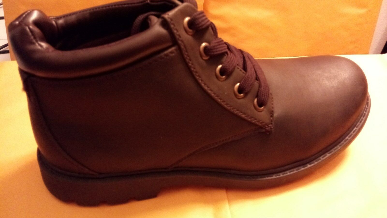 David Stone Vince Size 7 M Men's Brown Boot Style