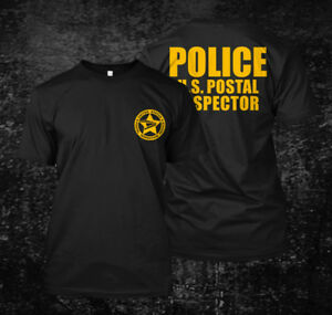 USA-inspector-Postal-Police-Custom-Men-039-s-T-Shirt-Tee