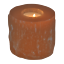 Orange-Selenite-Tealight-Candle-Holder-Handmade-Home-Decor-Healing-Crystal thumbnail 2
