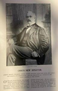 1896 Ohio Senator Joseph Benson Foraker and Family illustrated