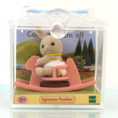 Sylvanian Families BABY CARRY CASE STROLLER Rabbit Epoch Calico Critters B-34