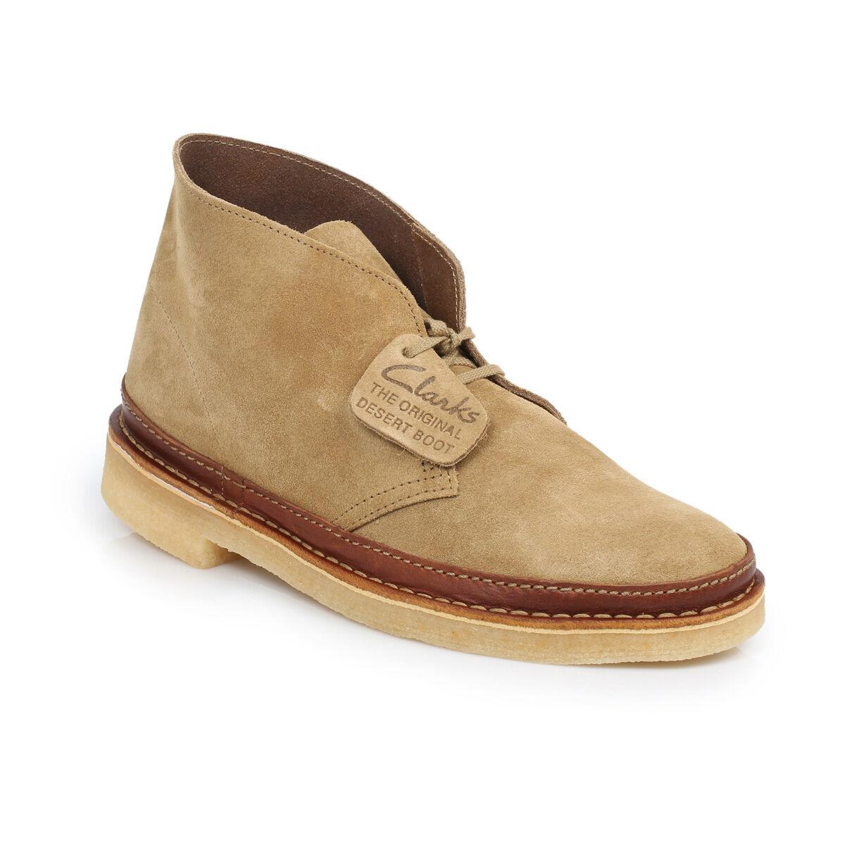 Clarks Originals  DESERT GUARD Stiefel   TAN SUEDE  UK 6,6.5,7,8,8.5,9,10,11