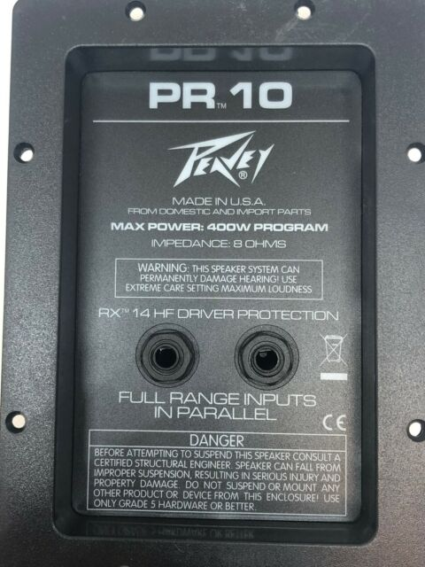 New Peavey PR12 Crossover 30501592 Replacement Speaker Cross over