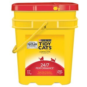 Tidy-Cats-Clumping-Cat-Litter-24-7-Performance-for-MultipleCats-35lb-Pail