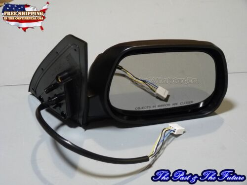 Outside Side View Outer Door Mirror Heated Power Black Passanger Right TO1321226