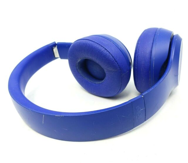 Beats By Dr Dre Solo3 Wireless Over The Ear Headphones Break Blue For Sale Online Ebay