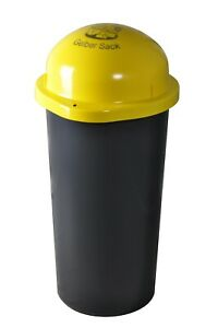KUEFA 60L - Mülleimer Müllsackständer mit Laserbeschriftung