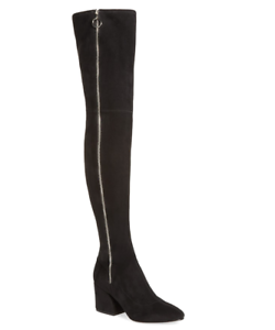 Dolce Thigh Vita Women's Black Vix Thigh Dolce High Boot Sz 8.5 2844 * 48839b