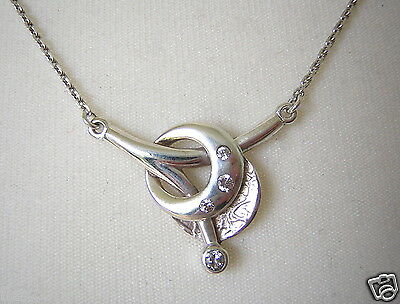 Fine Jewelry Kette 925 Silber Mit 4 Zirkonia Steinen Silber Schmuck Design 3,8 G 45 Cm #295 Street Price