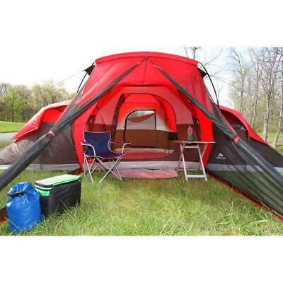 the best attitude 0bca8 e6d86 New Ozark Trail 10-Person Red Large Huge Family Camping Tent Outdoor  Shelter | eBay