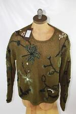 AUTH $1195 Gucci Men Cotton Crewneck Sweater XXL