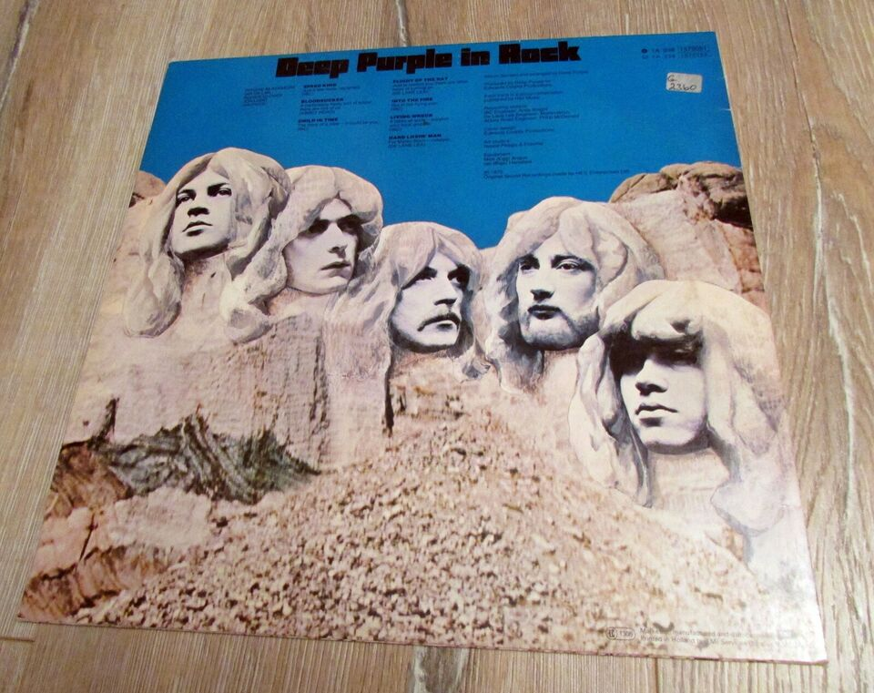 LP, DEEP PURPLE, DEEP PURPLE IN ROCK