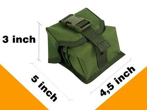 Pouch sniper Case molle PAINTBALL tactical airsoft bag magazine olive