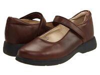 School Issue Prodigy Brown 10.5 M 42.5eur $60 Uniform Shoe Mj 5110bra