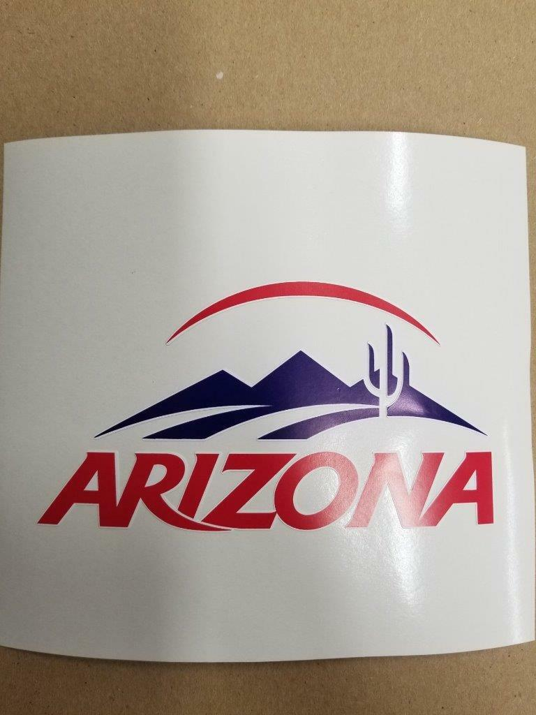 Arizona Wildcats cornhole  board or vehicle decal(s)AW2  best prices and freshest styles