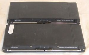 2 x Azden 221R Table-Top/Rack Mount VHF DualChannel Receiver - AS-IS Untested