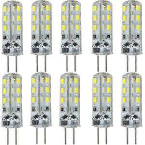 10x-DC12V-G4-24-3014-SMD-LED-Stiftsockel-Gluehbirne-Lampe-Strahler-Leuchtmittel