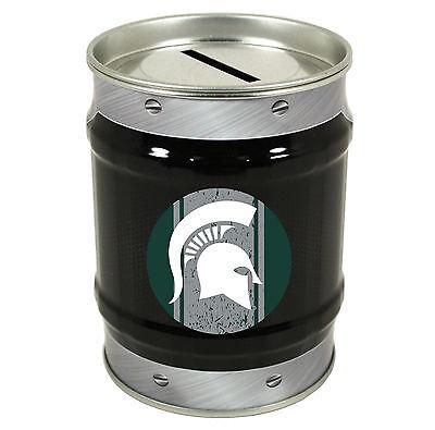 Racing-nascar Michigan State University Tin Bank-michigan State Coin Bank-new For 2016!