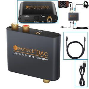 Digitale-ad-analogico-Audio-convertitore-adattatore-3-5mm-Jack-RCA-ottico