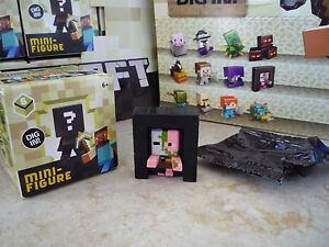 Minecraft-Mini-Figures-End-Stone-Series-6-Dig-In-New-Portal-Pigman-Loose