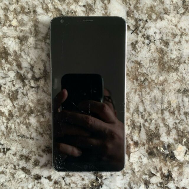 LG G6 H872, Black, UNTESTED - PARTS ONLY