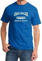 1970 Dodge Challenger American Muscle Car Classic Design Tshirt NEW