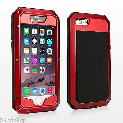 NEW iPhone 6 (4.7) Extreme Heavy Duty Shock Proof Protective Aluminium Case