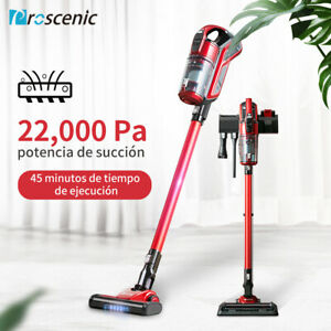 Proscenic I 9 Aspirador sin Cable 22000Pa Escoba Vertical de Mano 3 velocidades