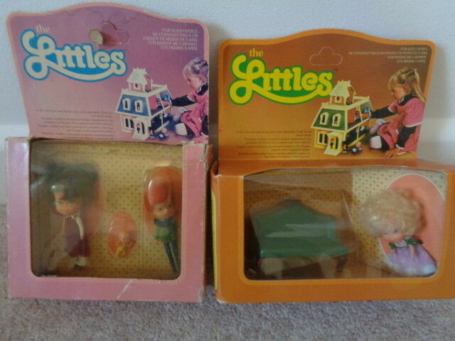 Mattel the littles dolls dolls dolls house people figures  sofa vintage 1980 rare 37a8d1