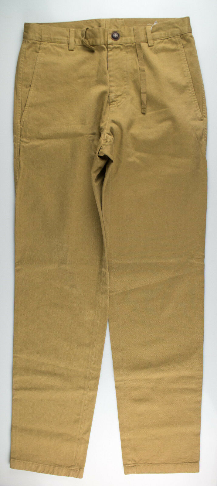 New. ADAM KIMMEL Brown Cotton Casual Pants Size XS