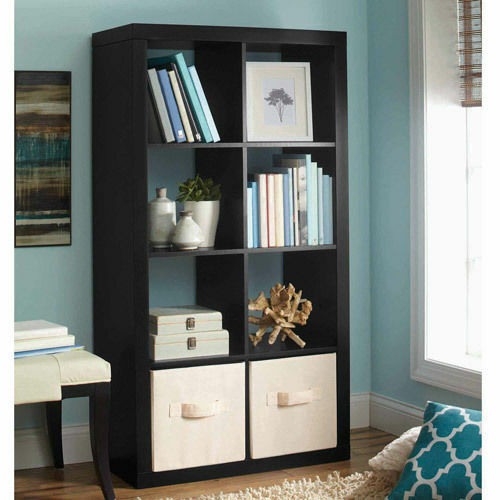 Better homes and gardens 8 cube organizer storage bookcase - Better homes and gardens bookshelf ...