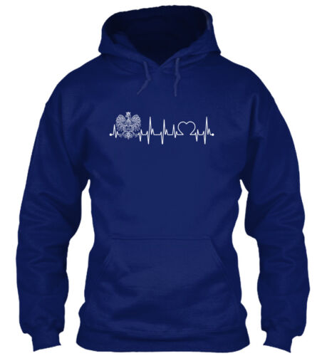 Poland Always In My Heartbeat Standard College Hoodie