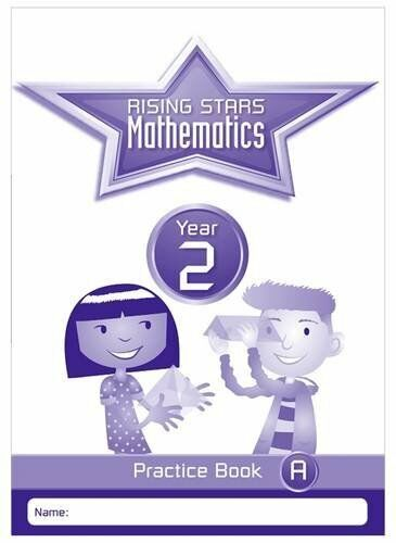 1 of 1 - Rising Stars Mathematics Year 2 Practice Book A, Listed  No Author, Excellent co