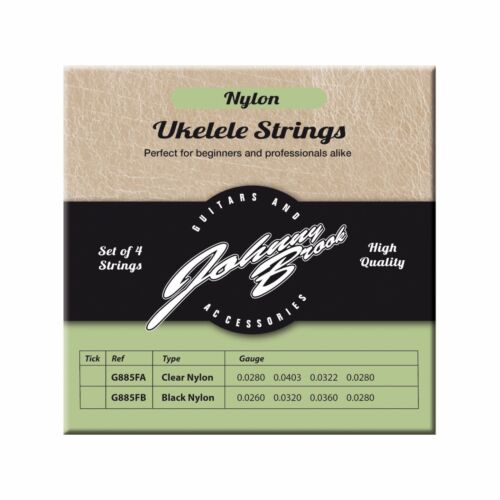 Johnny Brook Nylon Ukulele Strings Black