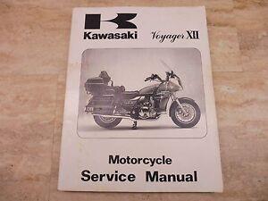 1986 kawasaki zg1200 voyager xii service manual 99924 1064 01 pl114 rh ebay com 1986 Kawasaki Eliminator 1986 Kawasaki Bayou 300