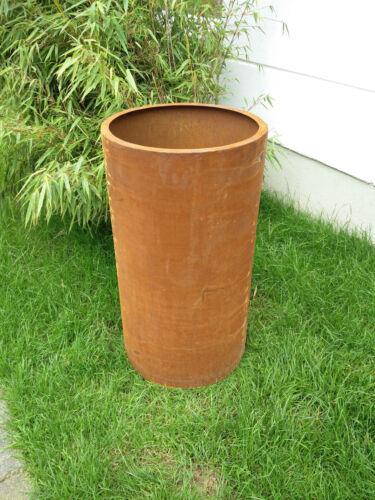 Rust Flower Pot on pot Precious Rust Plant Pot Rust Flower Pot Gartendeko h75*40cm