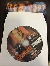 Criminal Minds - Season 1, Disc 2 REPLACEMENT DISC (not full season)