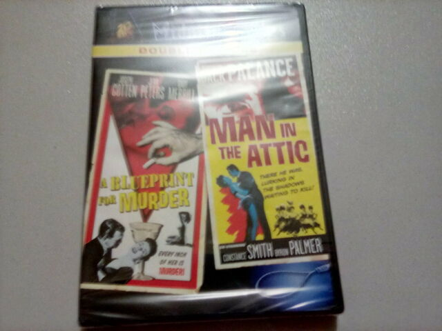 Midnite Movies Double Feature A Blueprint For Murder 1953 Man In The Attic Dvd 2007 2 Disc Set