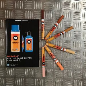 MOLOTOW ONE4ALL Marker 6er Set 127HS Neon Set