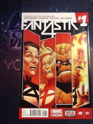 #1 VF+ BIJ126 Fantastic Four 2014 Vol 5