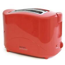 Lloytron E2012 Rojo 2 Rebanada Ranura Tostadora De Pan Desayuno Cocina Electrica-nuevo