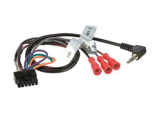 SsangYong Rexton ab 13 2-DIN Autoradio Einbauset  silber Lenkrad Adapter
