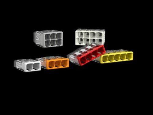 WAGO 2773-406 COMPACT PUSH connecteur 50 pcs-autorisé du vendeur 6 Way
