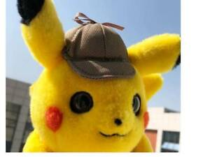 Pokemon Center Movie Detective Pikachu Plush Soft Doll 25cm
