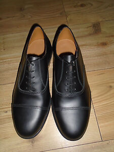 49eafc369f019 Details about RAF OR ARMY MENS BLACK LEATHER PARADE SHOES VARIOUS SIZES  BRITISH MILITARY ISSUE